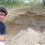 World Fossil Society found a new Mio-Pliocene fossil bed along the eastern coast of indian subcontinent (Stock photo-6)