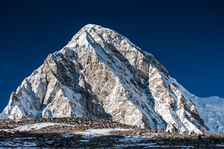 Himalayan mountain. Scientists found relics of what may have been two subduction zones by sampling and dating rocks from the Himalayan region. (stock image) Credit: © Maygutyak / Fotolia