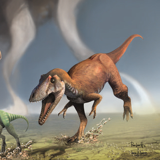 Another Dinosaur with Short Arms