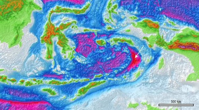 Geologists have for the first time seen and documented the Banda Detachment fault in eastern Indonesia and worked out how it formed. Credit: Image courtesy of Australian National UniversityClose