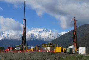 The Deep Fault Drilling Project borehole. Credit: John Townend, Victoria University, NZ