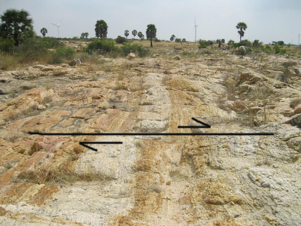 strike slip fault 1 .@World Fossil Society,Riffin T Sajeev,Russel T Sajeev